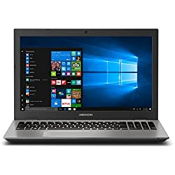 "Medion P6687 - MD 60882 - Ordenador portátil de 15.6"" HD (Intel Core i5-8250U-QC, 8 GB RAM, 1 TB HDD + 128 GB SSD, NVIDIA MX150 2GB, Windows 10) - Teclado QWERTY español [España]"
