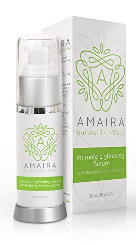 Intimate Lightening Serum – Whitening Cream for Face, Body, Knees. Safe on Bikini Area and Sensitive Areas. Skin Brightening for Hyperpigmentation Treatment by Amaira