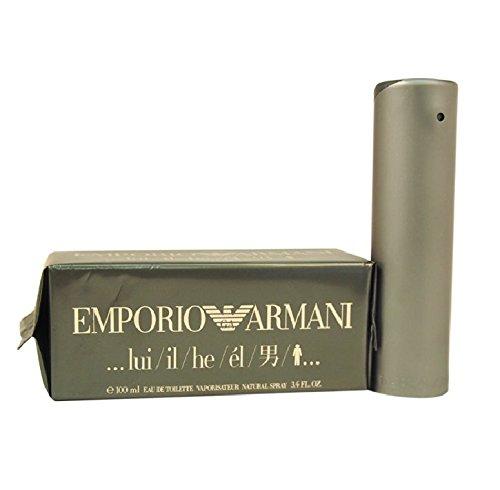 emporio he Armani Emporio Lui homme / men, Eau de Toilette, Vaporisateur / Spray, 1er Pack (1x 100 ml)