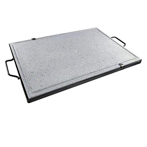 Piastra ollare lavica bistecchiera in pietra 50x40 cm cottura dietetica bistecchiera piastra in pietra ollare lavica cottura 50x40 cm