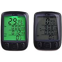 bescita Fahrradcomputer, LCD Fahrrad Tachometer Auto Wake Up Backlight für Ttracking Geschwindigkeit und Distanz, Wasserdicht
