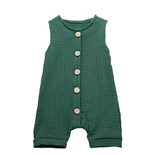 Baby Strampler Junge Strampler Set Mädchen Pwtchenty Jumpsuit Bodysuit Outfits Overall Playsuit Sommerkleidung Bekleidung Kleinkind Kind Overalls (Boy Toddler Weihnachts-outfits)