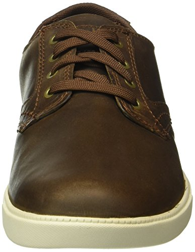 Timberland Fulk Ox, Chaussures à Lacets Homme Marron (Gaucho Saddleback Full Grain)