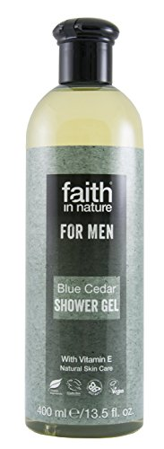 Faith in nature for men gel doccia, blu