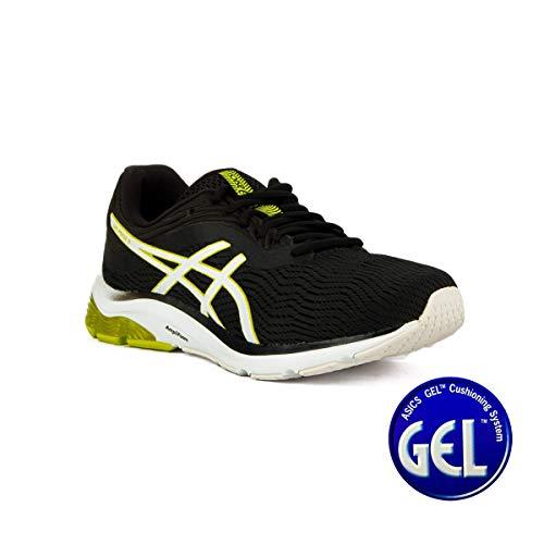 Asics Gel-Pulse 11, Zapatillas de Entrenamiento para Hombre, Multicolor (Black/Neon Lime 002), 43.5 EU