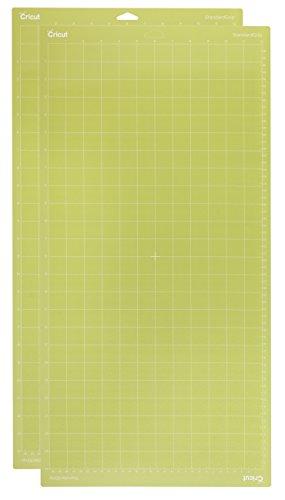 Cricut Standard Grip Schneidematte, selbstklebend, grün, 12x 24–Zoll, 2-teilig