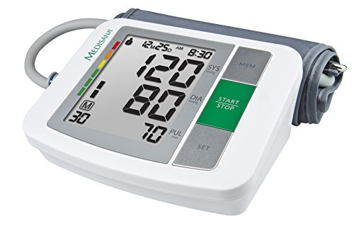 Medisana BU 510 Oberarm- Blutdruckmessgerät 51160, mit Arrhythmie-Anzeige, mit WHO Ampel-Farbskala,...