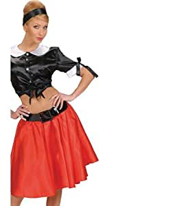 Jupe jupon pour robe jupe rouge 60 roll 50 grease ladies schlager