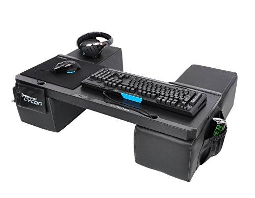 COUCHMASTER Cycon | Black Edition (base ergonómica para jugar en el sofá, incl. cojines)