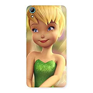 Delighted Tin Cure Girl Back Case Cover for HTC Desire 826