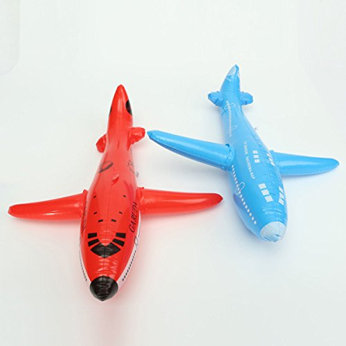 PhilMat Giocattoli gonfiabili gonfiabili per bambini giocattoli puntelli rifornimenti aerei gonfiabile