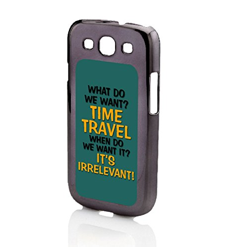 Was tun wir? Time Travel Galaxy S3 Tasche schwarz