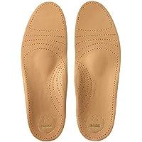 biped Soft Fußbett extra weich aus pflanzlich gegerbtem Leder - mit Pelotte - Mittelfußstütze - Fersenpolster... preisvergleich bei billige-tabletten.eu