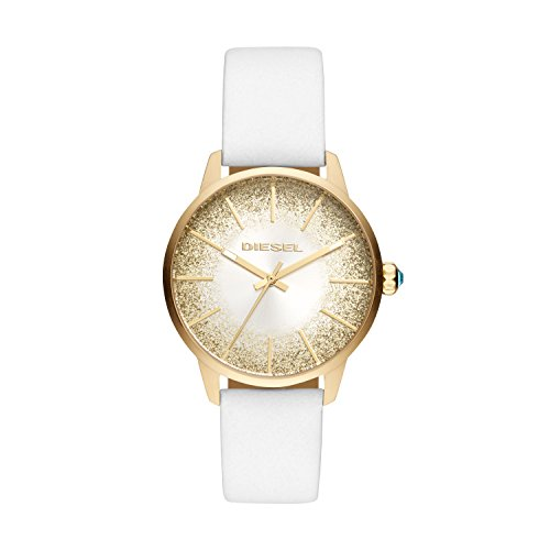 Diesel Women's Analogue Quartz Watch with Leather Strap DZ5565