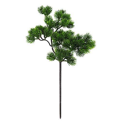 Strimusimak 1pc albero pianta artificiale in vaso colore pino guest-greeting home decorativo bonsai puntelli