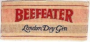 BEEFEATER Gin Bar Theken Handtuch (pp)
