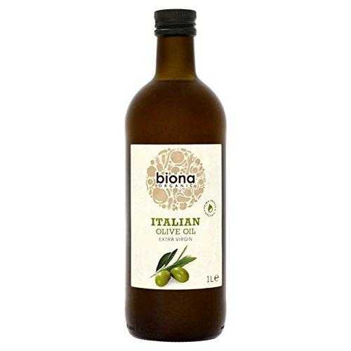 Biona Organique Huile d'olive Italienne Supplémentaire 1L Vierge - Paquet de 6