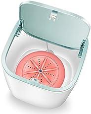 Mini Washing Machine Laundry rel Washer Underwear Socks Washer Portable Personal Rotating Ultrasonic Turbine W