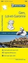Gers, Lot-et-Garonne - Michelin Local Map 336