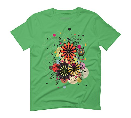 Blossom Men's Graphic T-Shirt - Design By Humans Grün