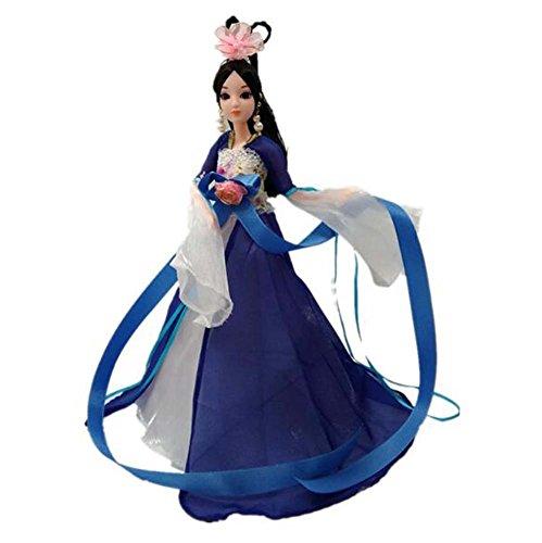 ubine Menschen Puppen chinesischen alten Kostüm Göttin-B (Chinesische Kostüme Für Jungen)