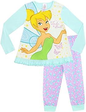 Disney Tinkerbell - Pijama para niñas - Campanita