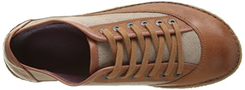 Kickers Hollyday, Baskets Basses Femme Marron (Marron Clair)