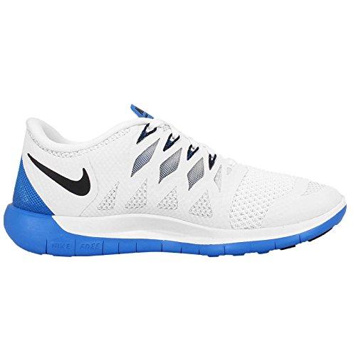 Nike - Wmns Nike Free 5.0, Scarpe Da Corsa da donna 105 WhiteRoyBlk