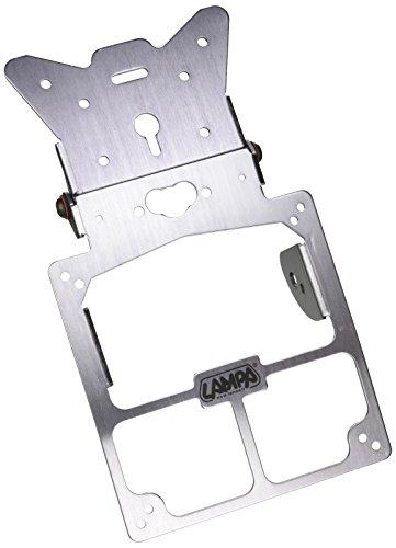 Lampa - 90142 -Portamatrícula Universal para Moto
