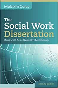 Dissertation in social work