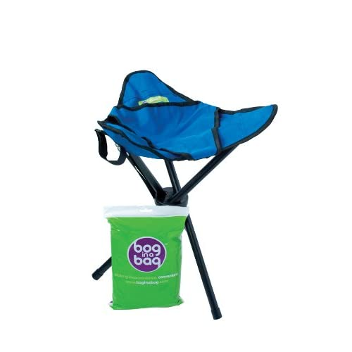 41NfULH1vsL. SS500  - BoginaBag Foldable Portable Folding Toilet suitable for Festivals, Camping, Fishing, Hiking & Treking - Bog in a Bag (Stool only)