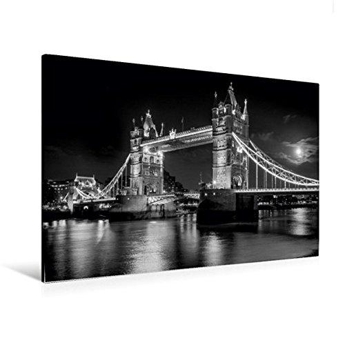 Premium Textil-Leinwand 120 cm x 80 cm quer, Ein Motiv aus dem Kalender London Stadt an der Themse | Wandbild, Bild auf Keilrahmen, Fertigbild auf echter Leinwand, Leinwanddruck (CALVENDO Orte) (Bild Der Stadt)