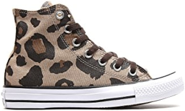 Converse   Converse Hi Vintage Khaki/Dark Ctas Chocolat Chuck TaylorChucks Schuhe Herren Damen Größe 36 (UK 3 5)