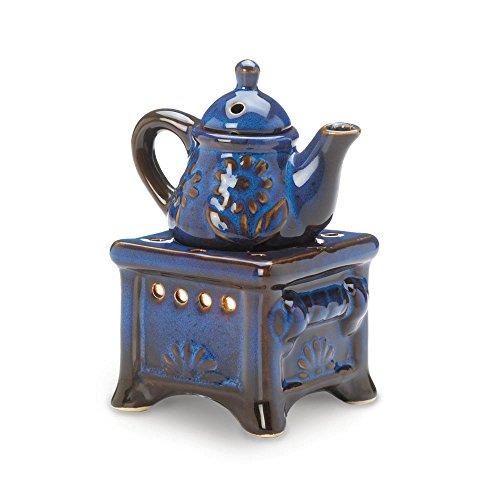 Koehler 1001771413,7cm Teekanne Herd Öl Stövchen blau -