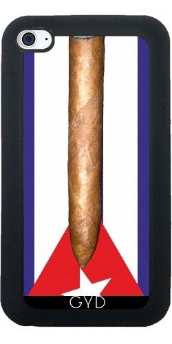 Leder Flip Case Tasche Hülle für Apple iPhone 6/6S - Flagge Kuba Zigarren by hera56 Silikon