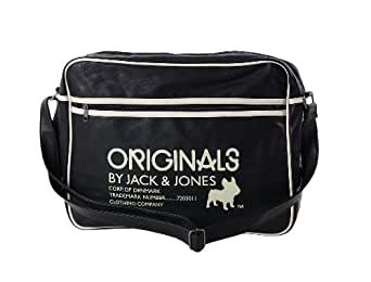 Sacoche JACK AND JONES Caspian Messenger Noir
