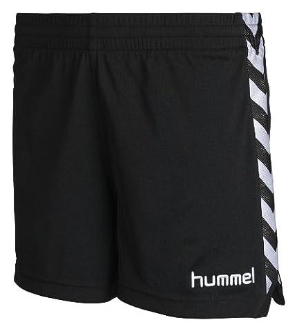 Hummel Damen Shorts Stay Authentic Poly, black, M, 10-628-2001