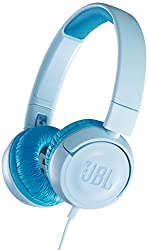 JBL JR300 Kids On-ear Headphones (Ice Blue)