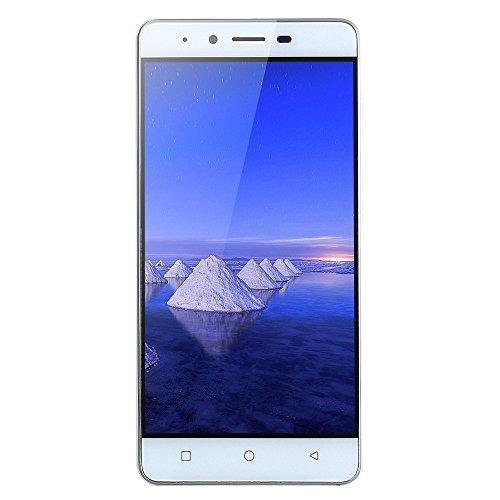 "MATE9 - Android 5.1-5.0 Zoll MTK6589 Quad-Core 512 MB + 4G Smartphone""ultra-dünne GSM 3G WiFi Dual-Karte Kamera, ein sehr kostengünstiges Mobiltelefon (White)"