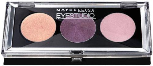 Gemey Maybelline - Fard à Paupières CREME - Eyestudio Trio - N°20 Purple Possibilities