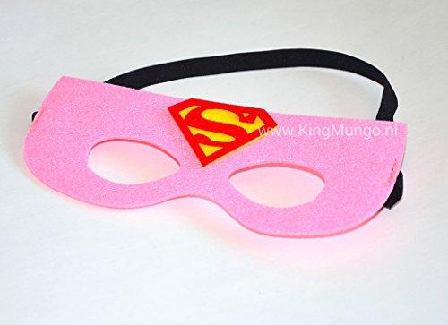 Juego De Máscara Y Capa Supergirl Demascarascom
