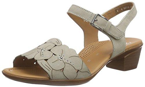 Ara - Lugano-sandalette, Scarpe col tacco con cinturino a T Donna Beige (Beige (moon 07))