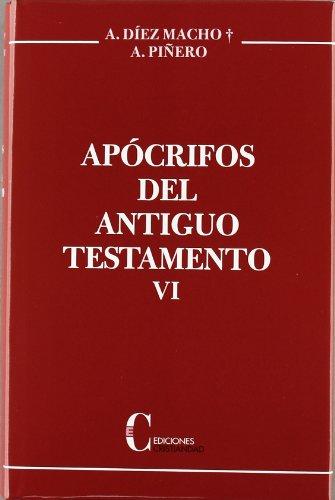 Apocrifos Del A.T. Vi Macho/Piñero Cristiandad, Ediciones