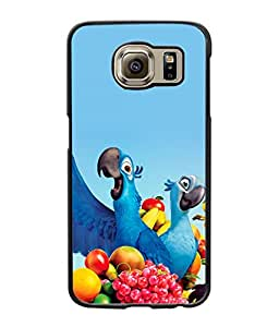 Crazymonk DIGITAL PRINTED BACK COVER FOR SAMSUNG GALAXY S6