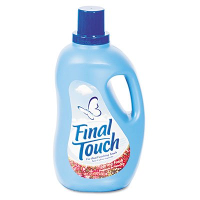 final-touchiumliquestfrac12-quotfinal-touch-ultra-liquid-fabric-softener-120oz-bottlequot-unit-of-me