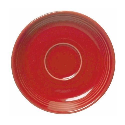 Fiestaware 15,2cm Soucoupe-Rouge écarlate Fiestaware