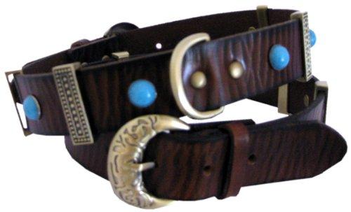 Bild: Halsband Cheyenne  Softleder  Top Qualität  6 verschiedene Größen  Dogs Stars
