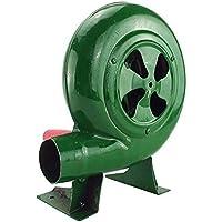 Ventilador De Barbacoa Top Manual Forge Blower Fuelles Manivela (Verde, 80W)
