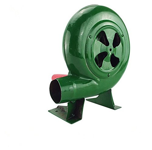 Ventilador De Barbacoa Top Manual Forge Blower Fuelles Manivela Verde, 80W