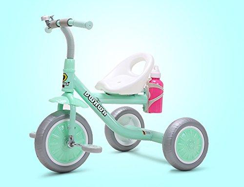 Preisvergleich Produktbild Kinder-Dreirad, Fahrrad, 1-6 Jahre altes Baby-Bike, Kinderwagen, leichter Kinderwagen